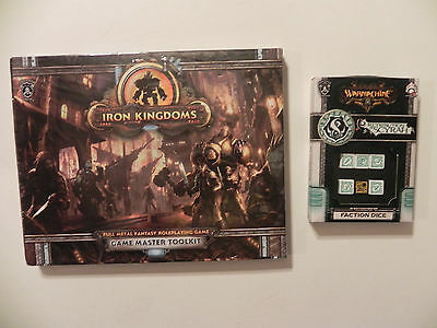 Privateer Press Iron Kingdoms- Fantasy-RPG-GM-Toolkit-scyrah  Faction dice-lot
