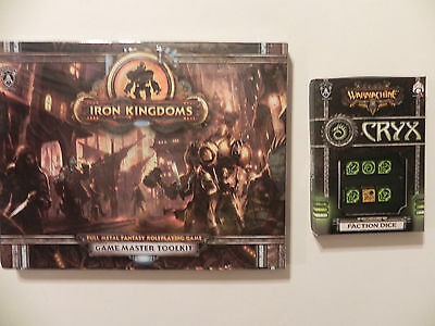 Privateer Press Iron Kingdoms- Fantasy-RPG-GM-Toolkit-cryx  Faction dice-lot