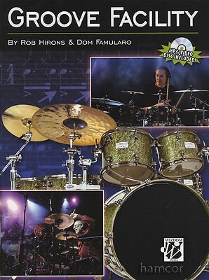 Groove Facility Create Funky & Effective Contemporary Drumset Grooves Drum Book