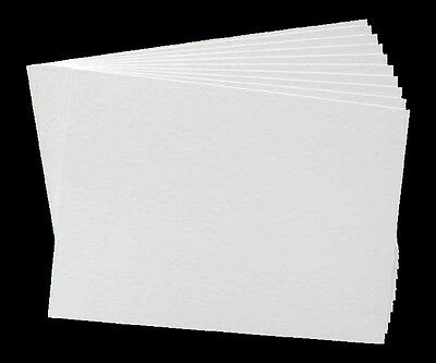 10 Sheets of A4 White Smooth Card 250GSM