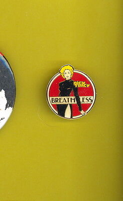 Madonna 1990 Dick Tracy Breathless enamel usa pinback button badge  X