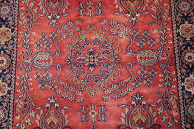 c1930s ANTIQUE PERSIAN BIJAR RUG 2.11x5.1 HIGHLY DETAILED BEAUTY