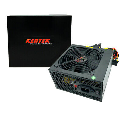750W Gaming 120MM Fan Silent ATX Power Supply PSU 12V 750 Watt New