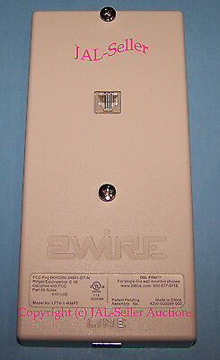 Factory Sealed 2Wire U-Verse / DSL Filter Wall Mount Phones LFT4-1-WMPT