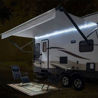 NEW RV 16' WHITE LED Awning Party Light w/Mounting Channel & White PCB 12 Volt