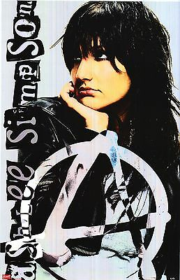 MUSIC POSTER~Ashlee Simpson Solo In B/W Autobiography Show I Am Me Print OOP~New