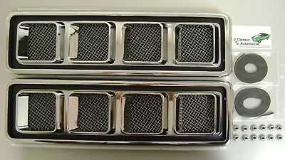 Hood Louvers Ornaments SS 68-69 Camaro **In Stock** Gaskets Nuts