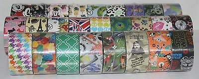 Brand New You Pick Duck Brand Duct Tape Rolls!! Rare & Retired Patterned Printed