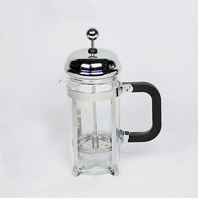350ml Stainless Steel Glass Tea Coffee Cup french Plunger Press Maker HJ223A