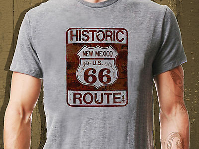 New Mexico Route 66 Vintage Classic T-Shirt Biker Motorcycle Retro  Ideal Gift