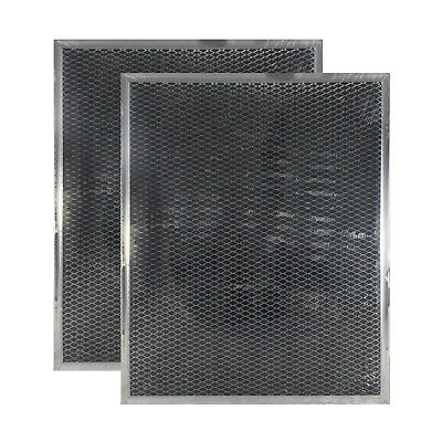(2-Pack) Broan BPSF30 99010308 Compatible Range Hood Charcoal QS WS Filters