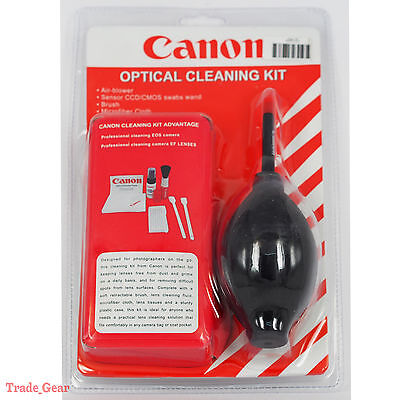 Black 7-in-1 Professional Lens Cleaning Kit For Canon Nikon Olympus Sony Pentax