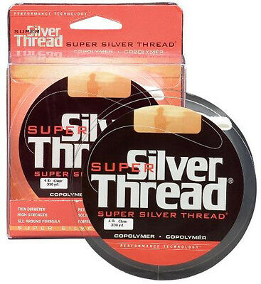 Super Silver Thread Clear 330yds