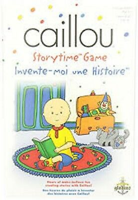CAILLOU STORYTIME STORY telling Imagination game lot of 3 NEW!!