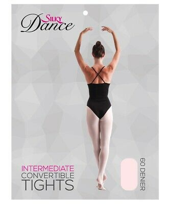 Silky Adult Womens Convertible Dance Ballet Tights S M L XL