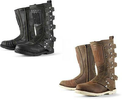 Icon 1000 Elsinore Urban Assault Motorcycle Boots ALL SIZES