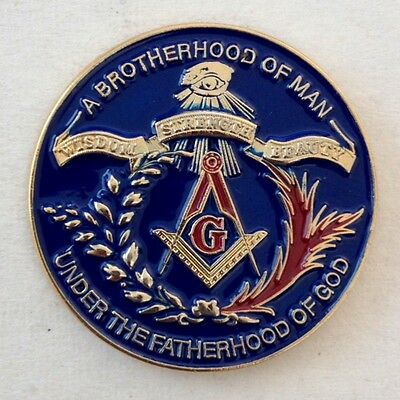 "1"" Masonic Lapel Pin(BOB)"