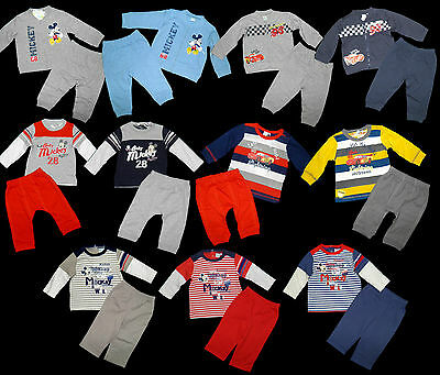 Jogginganzug Disney Cars McQueen Mickey Jogger Set Lightning 68 74 80 86 92 NEU