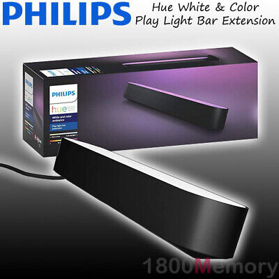 Philips Hue White and Color Ambiance Smart Play Light Bar Extension Black IP20