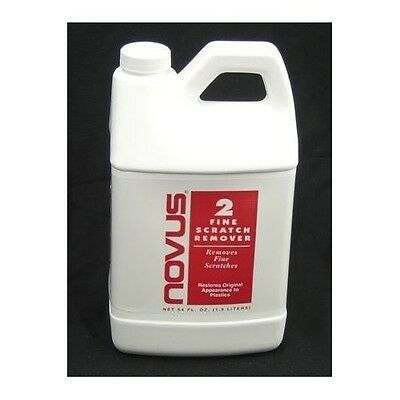NOVUS #2 - Fine scratch remover 64oz jug bottle Great for Pinball - Free US Ship