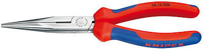 Knipex 26 12 200 Snipe Nose Side Cutting Pliers 2612200