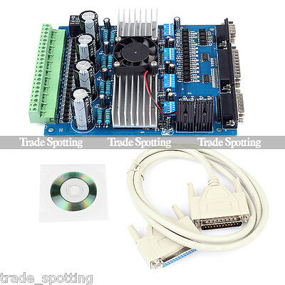 New CNC TB6560 4 Axis 3.5A Stepper Motor Driver Controller For Engraving Machine