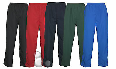 Kids Micro Fibre Track Pants Size 6 8 10 12 14 Sports Boys Girls