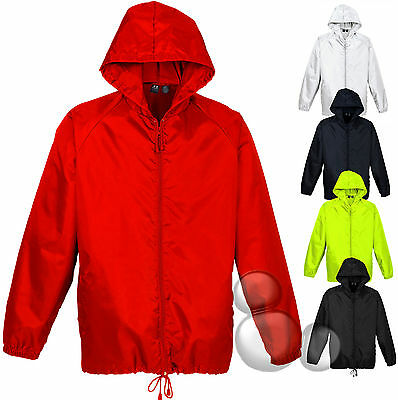 Spray Jacket Size S-XL & 2XL-5XL Lightweight Coat Adults Mens Ladies Hi Vis