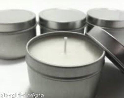 Soy Candle Making KIT 1.4KG 10 x TRAVEL TIN everything included,all you need