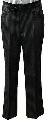 New Mens Pinstripe Business Formal Dress Pants Trousers