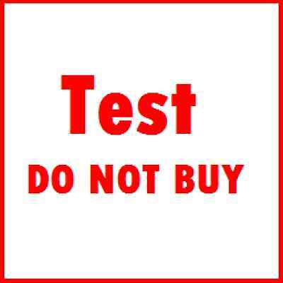 ANDR TEST AUCTION - DO NOT BID OR BUY - BO - JLC July 15