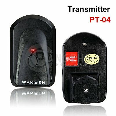 PT-04 GY NE series 4 Channel transmitter for wireless flash trigger