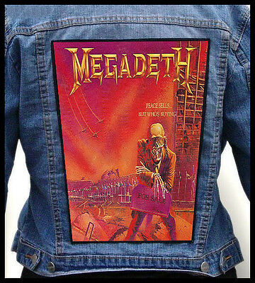 MEGADETH - Peace Sells... But Who's Buying   --- Back Jacket Patch backpatch