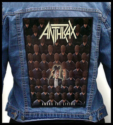 ANTHRAX - Among the Living     --- Back Jacket Patch backpatch
