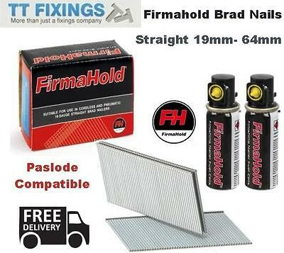 16g Straight Brad Nails Brads inc Gas Fuel Cells Paslode Compatible IM65