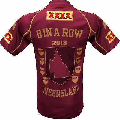 QLD Maroons State of Origin Domin8 Jersey BNWT Dominate 8 in a Row NRL