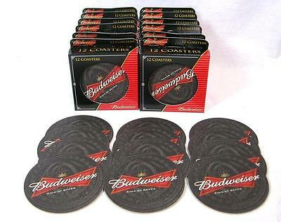 Lot Of 144 Budweiser King Of Beers Bar Coasters Man Cave Pub Anheuser Busch
