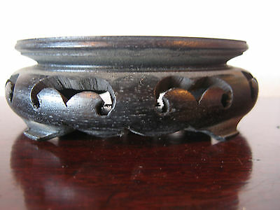 Vintage Possibly Antique Asian Chinese Wooden / Wood Stand