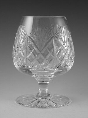 "EDINBURGH Crystal - IONA Cut - Brandy Glass / Glasses - 4 5/8"" (1st)"