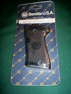 Beretta Factory Plastic Checkered Grips 92Sb Compact Type M