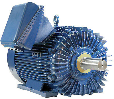 500 hp electric motor 586uz/587uz 3 phase 1800 rpm crusher severe duty 460 volt