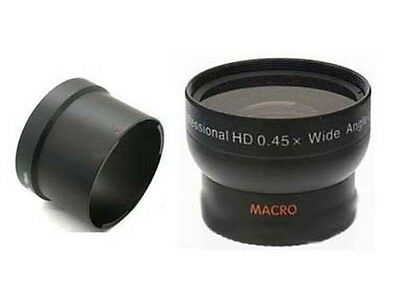 Wide Lens + Tube adapter bundle for Kodak DX7440 Z730 DX-7440 Z-730