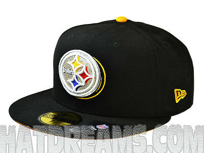on sale f3924 d8649 Pittsburgh Steelers 2013 ILLUSION FITTED 59Fifty NFL Authentic Hat by New  Era