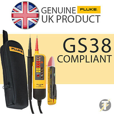 Fluke T90 Voltage & Continuity Tester KIT2Q with 1AC Voltstick and C150 Case