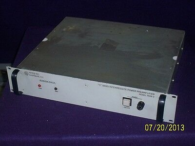 """Miteq 7608-2 """"S"""" Band Intermediate Power Amplifier - Excellent Condition!"""