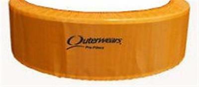Outerwear Orange 14 x 4 Air Cleaner Dirt Racing Modified UMP IMCA Outer Wear ORG