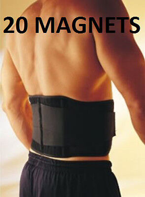 Adjustable MAGNETIC DOUBLE PULL Lumbar Support LOWER BACK Belt Brace Pain Relief