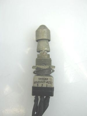 MS21027A211 Lever Lock Toggle Switch, ON OFF ON 3 POS f16 Simulator 8856K4