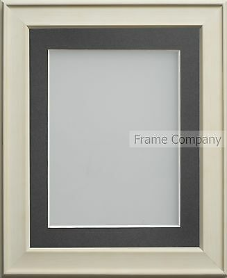 Frame Company Wilton Range Cream Picture Photo Frames with choice of Mount