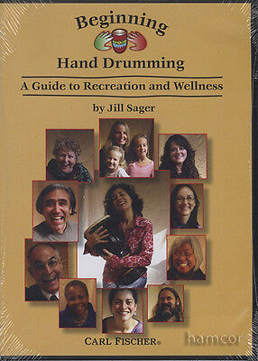 Beginning Hand Drumming DVD A Guide to Recreation & Wellness Jill Sager